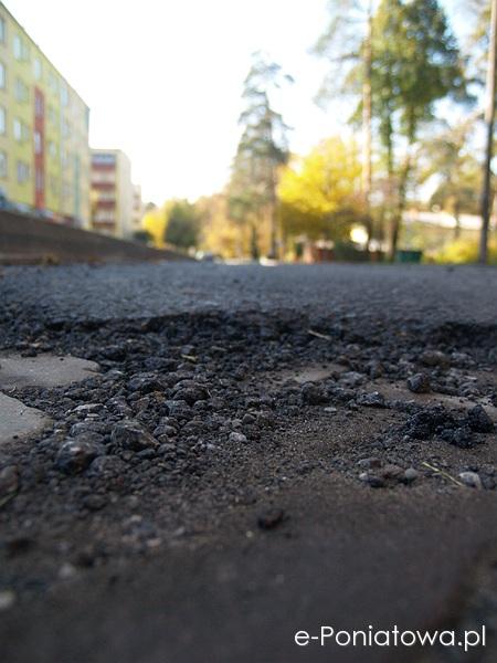 Remont ulicy Modrzewiowej