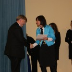 Gmina Poniatowa wyróżniona za szczególne osiągnięcia w podnoszeniu kwalifikacji urzędników