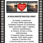 Wystawa fotografii na 19 Finał WOŚP