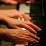 Koncert na cztery ręce w Poniatowej