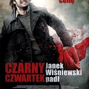 Kino CZYN zaprasza na film pt. Czarny czwartek. Janek Wiśniewski padł.