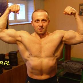Roman w siłowni, 2011, fot. R.K.