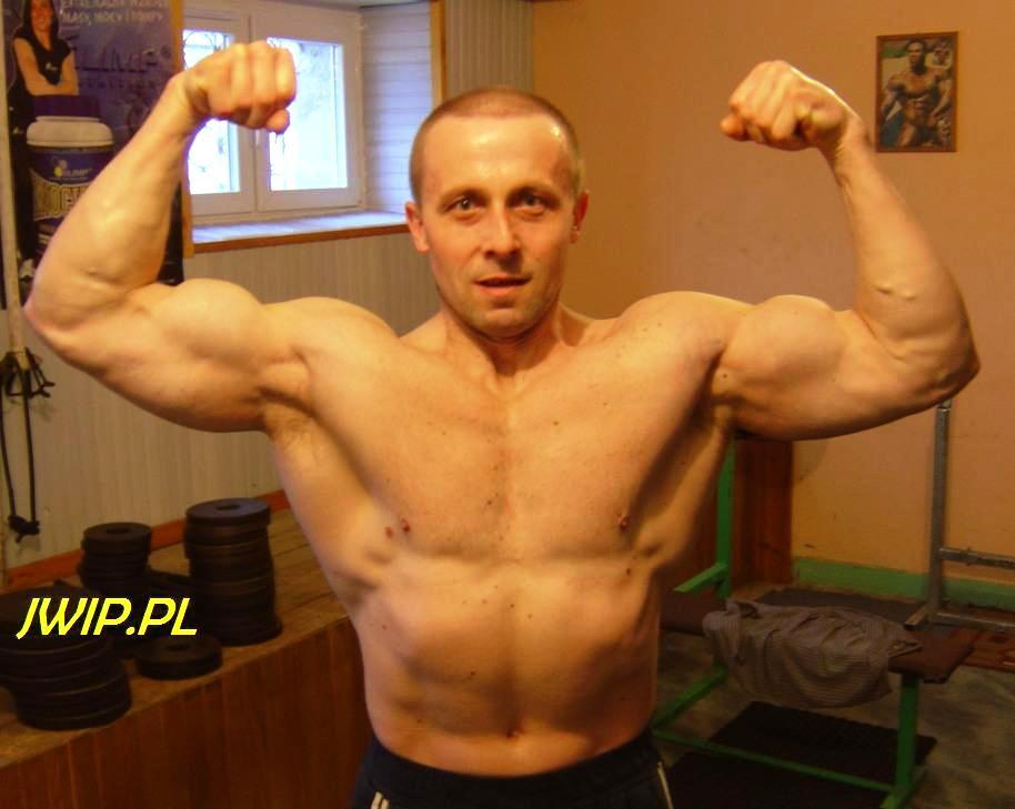 Roman Kosyl w siłowni, 2011, fot. R.K.
