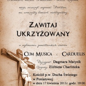 Koncert w Niedziele Palmową