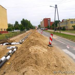 Remont ulicy Szkolnej w Poniatowej