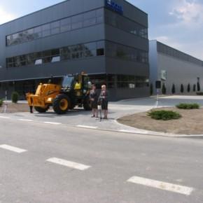 Uroczyste zakończenie realizacji Strefy Przemysłowej (Fot. UM Poniatowa)