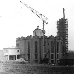 Budowa kościoła w Poniatowej
