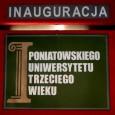 Informujemy o rozpoczęciu rekrutacji na II rok Poniatowskiego Uniwersytetu Trzeciego Wieku. Wszystkich zainteresowanych prosimy o zgłaszanie się w celu wypełnienia karty słuchacza w terminie do 15 września 2011 r. do […]