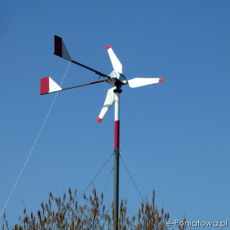 Pierwsza w Poniatowej elektrownia wiatrowa