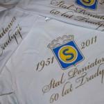 Jubileuszowe koszulki Stali Poniatowa