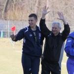Szczęśliwy trener Stali Henryk Kamiński