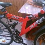 Skradziony rower w Poniatowej