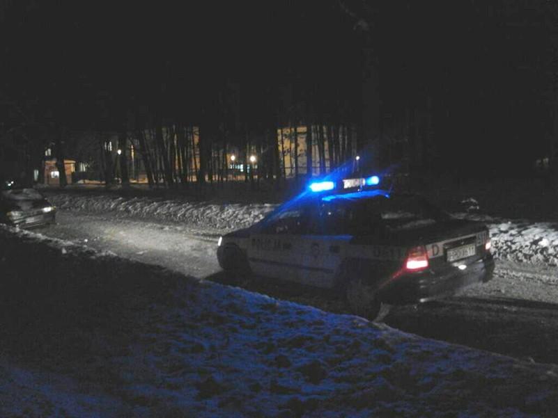 Potrącenie pieszego w Poniatowej (fot. e-Poniatowa.pl)