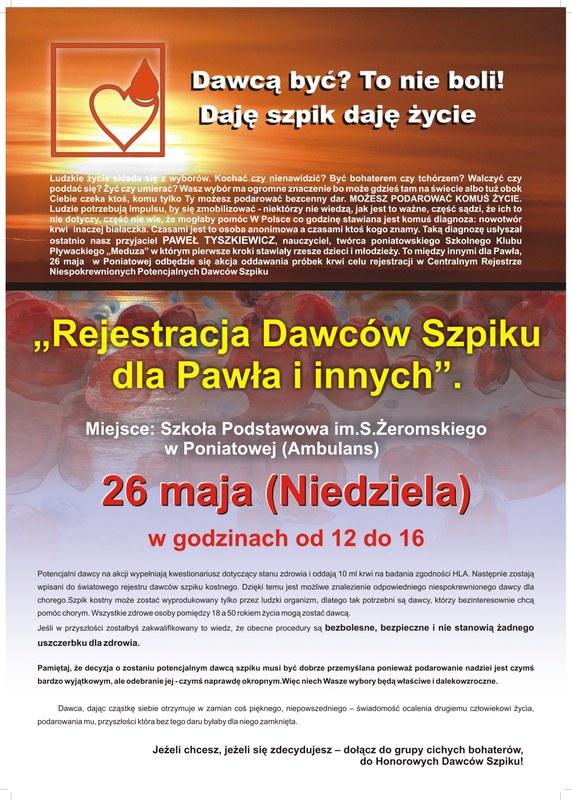 Rejestracja Dawców Szpiku