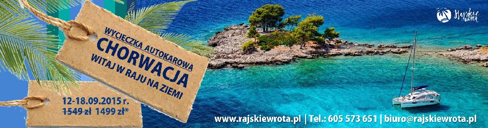 Wycieczka objazdowa po Chorwacji z Biurem Podr�y Rajskie Wrota